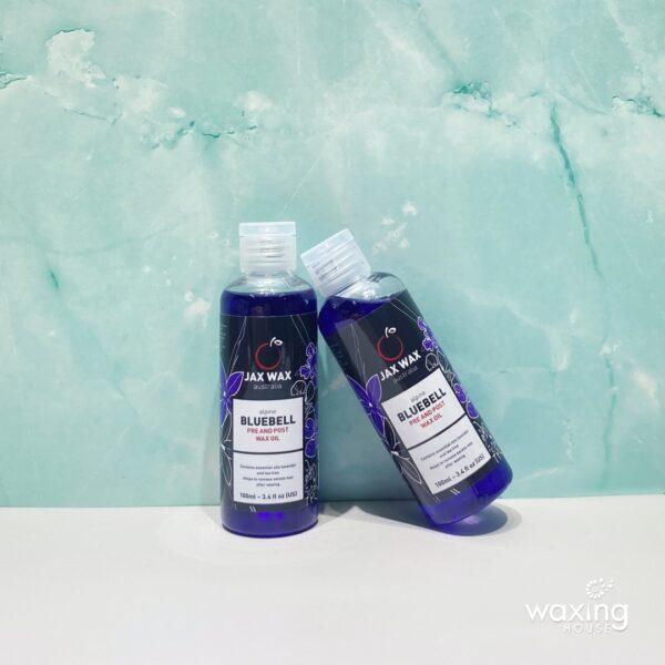Dầu lau sáp sau khi wax lông Jax Wax Bluebell 100ml