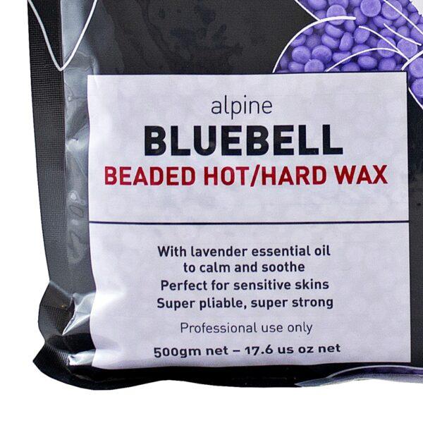 Sáp wax nóng Alpine Bluebell 500g dạng hạt