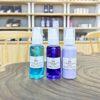 Set sample làm sạch, dầu lau sáp, dưỡng sau tẩy lông 50ml