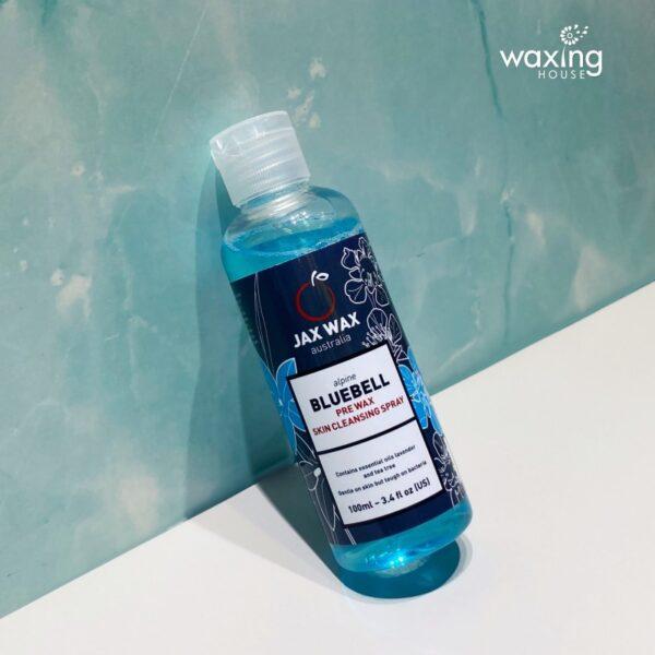 Dung dịch làm sạch da trước tẩy lông Jax Wax Alpine Bluebell 100ml