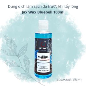 Dung dich Lam sach da truoc khi tay long Jax Wax Bluebell