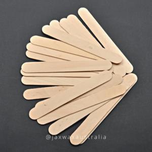 Que gỗ wax lông size to 15x1.8cm - dùng wax lông tay, chân, nách